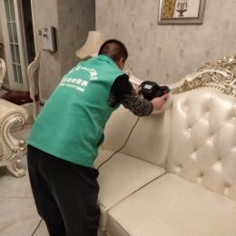 皮革维修保养案例:真皮沙发的保养及修复